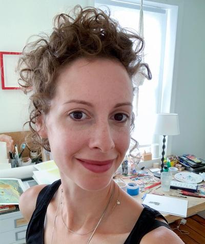 Award-winning author and illustrator Sarah Jacoby