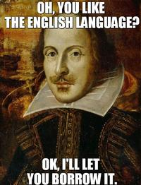 Oh, Shakespeare!