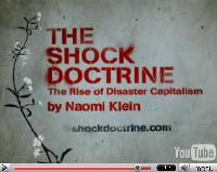 A still from the Shock Doctrine short film