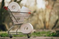 Panicked shoppers have been stocking up on toilet paper.
