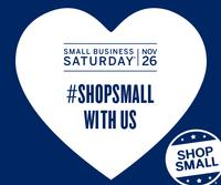 Small Business Saturday is November 26!
