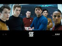 Promo Photo for the <i>Star Trek</i> movie  © Paramount Pictures