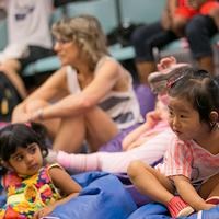 Neighborhood libraries across the city will offer public storytimes for children and families linked to <i>Max and the Tag-A-Long Moon</i> throughout March and April.