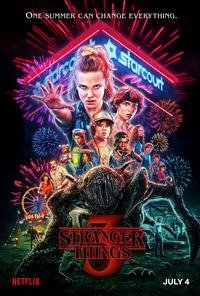 <i>Stranger Things</i> Season 3 poster by Kyle Lambert