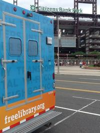 Techmobile outside Citizens Bank Park