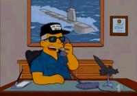 Tom Clancy on The Simpsons