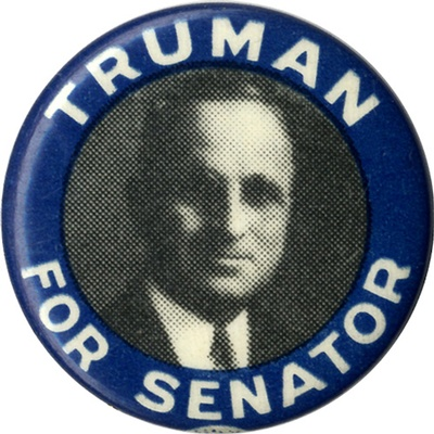 Senator Harry Truman became the 33rd President of the United States, after FDR died 83 days into office.