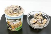 Ben & Jerry's popular Peanut Butter & Cookies non-dairy ice cream.