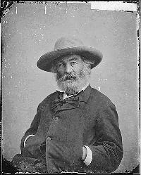 Whitman ca. 1860–65.