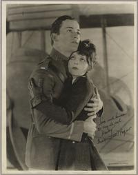 Signed publicity photo for Wings.