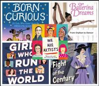 Check out these biographies during Women's History Month!