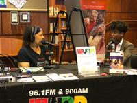 WURD Radio broadcast from Walnut Street West Library in 2018
